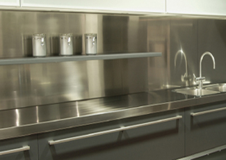 Stainless Steel Countertops - Stainless Steel Kitchens Knoxville, TN