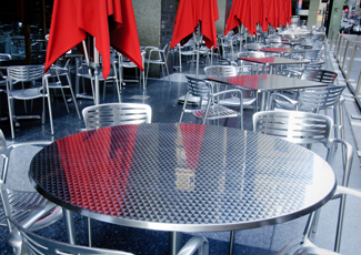 Knoxville, TN Stainless Steel Table