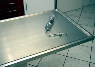 Oak Ridge, TN Stainless Steel Table